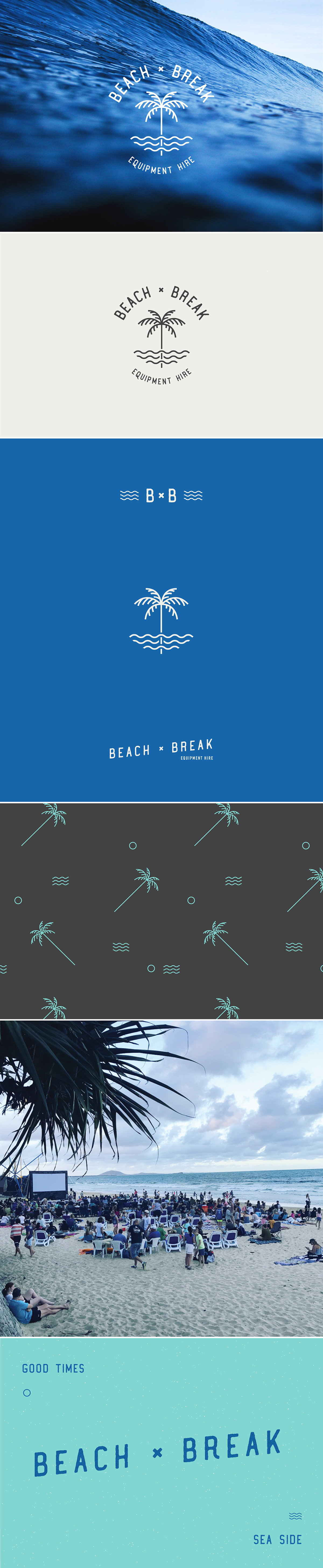 Beach Break Branding Design by Now or Never Design Studio