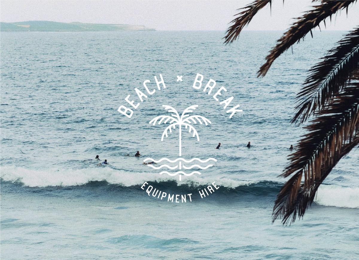 Beach Break Logo Design