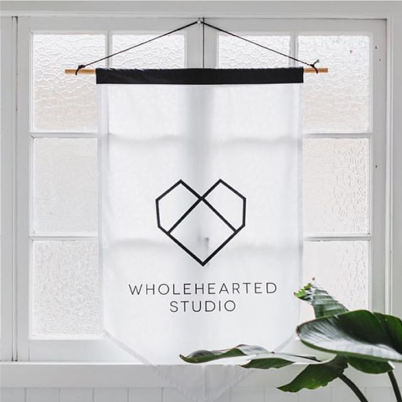Wholehearted Studio Flag