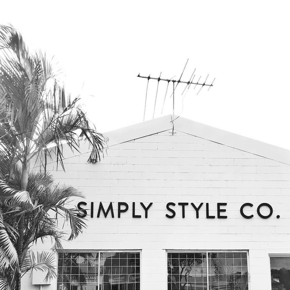 Simply Style Co Signage Design
