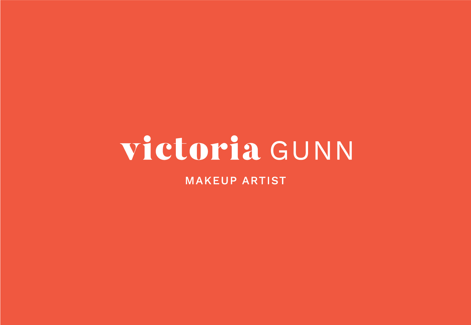 Logo design for Victoria Gunn by Now or Never Design
