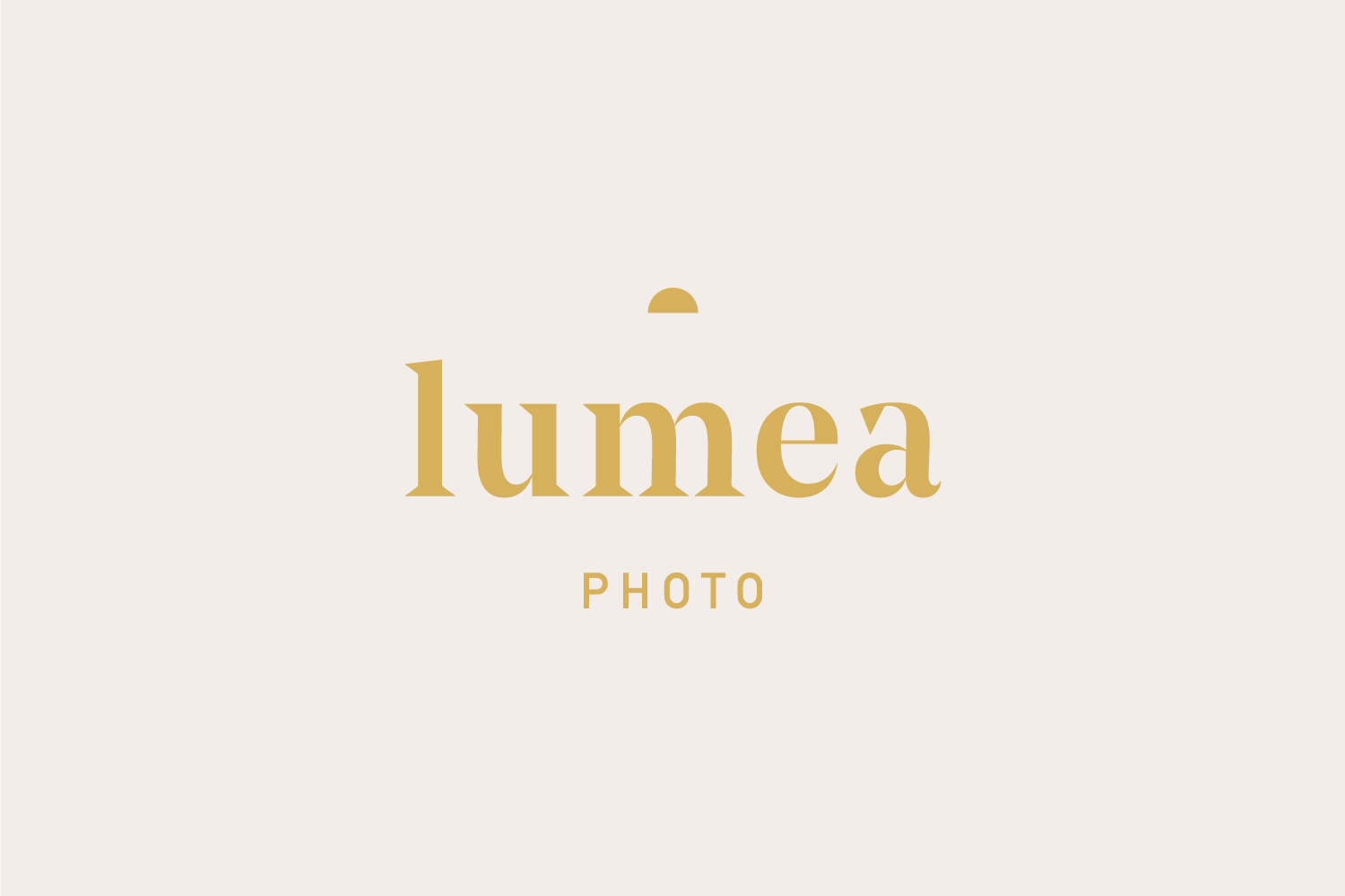 Lumea Photo logo design by Now or Never Design