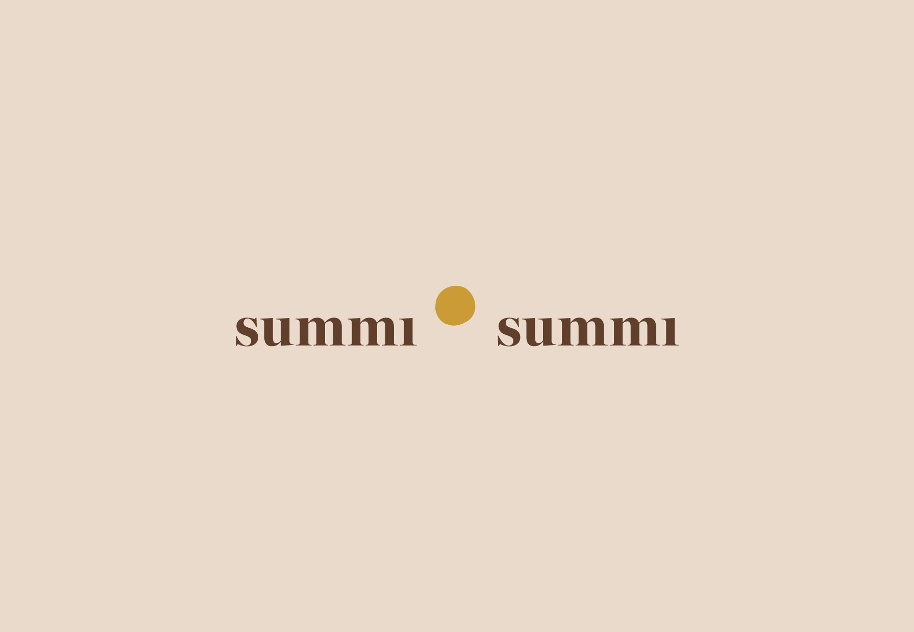 Summi Summi Logo Design