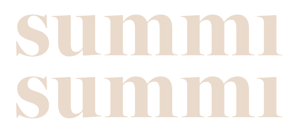 Summi Summi secondary logo layout