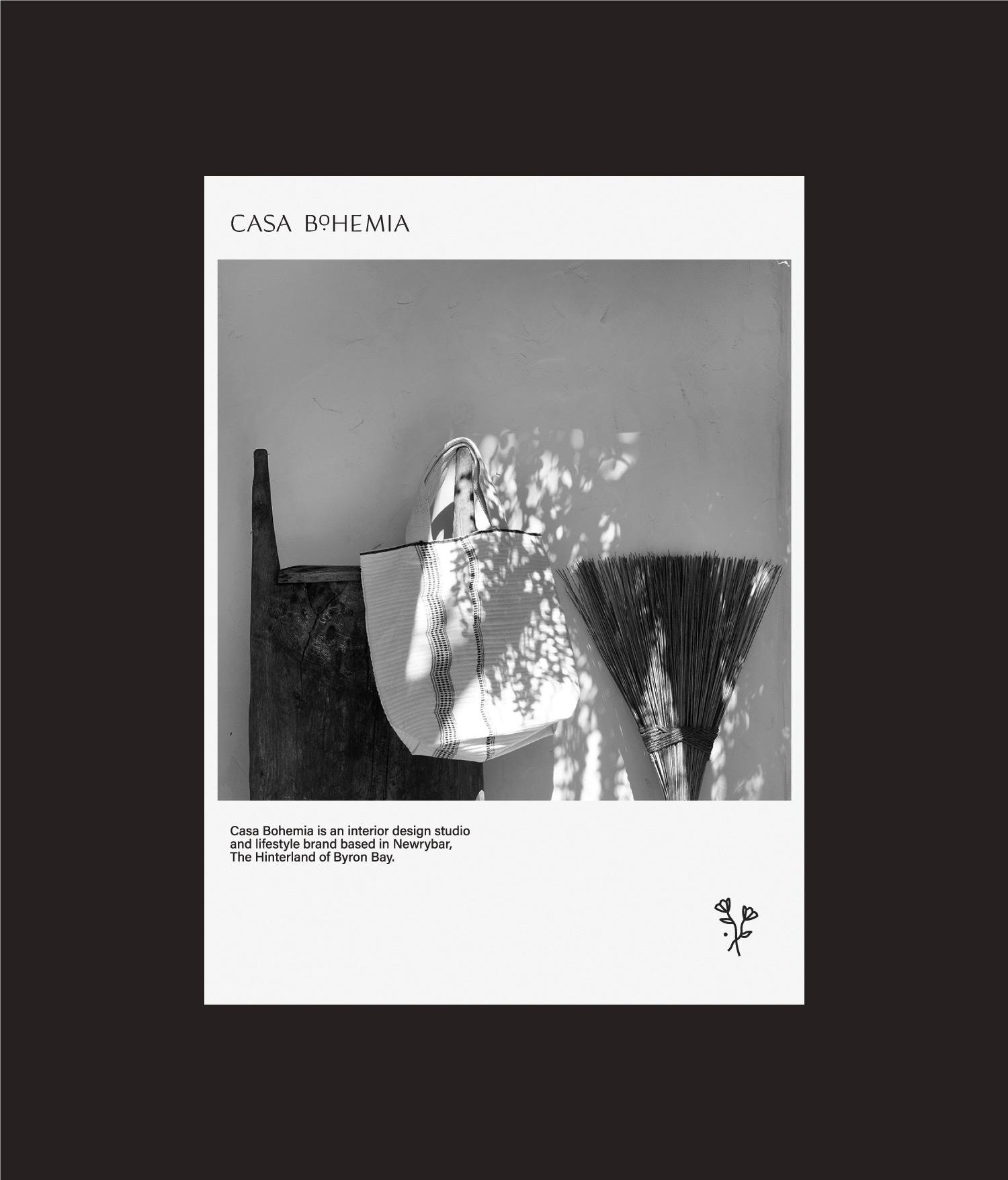Casa Bohemia polaroid design