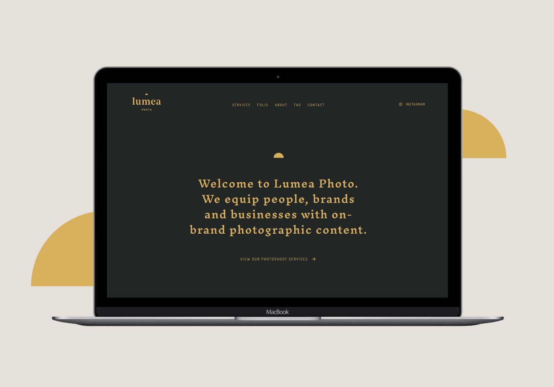 Lumea Photo website